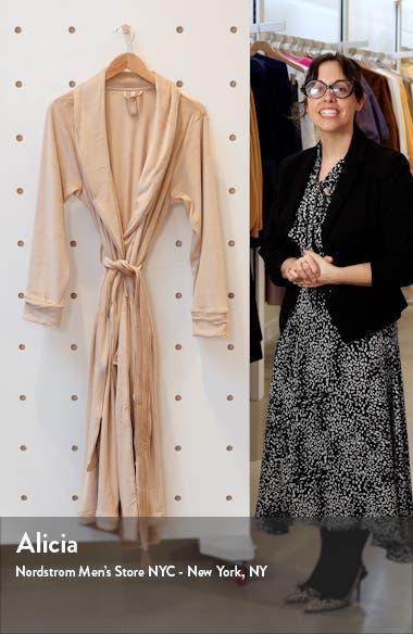Velour Women's Long Robe, sales video thumbnail