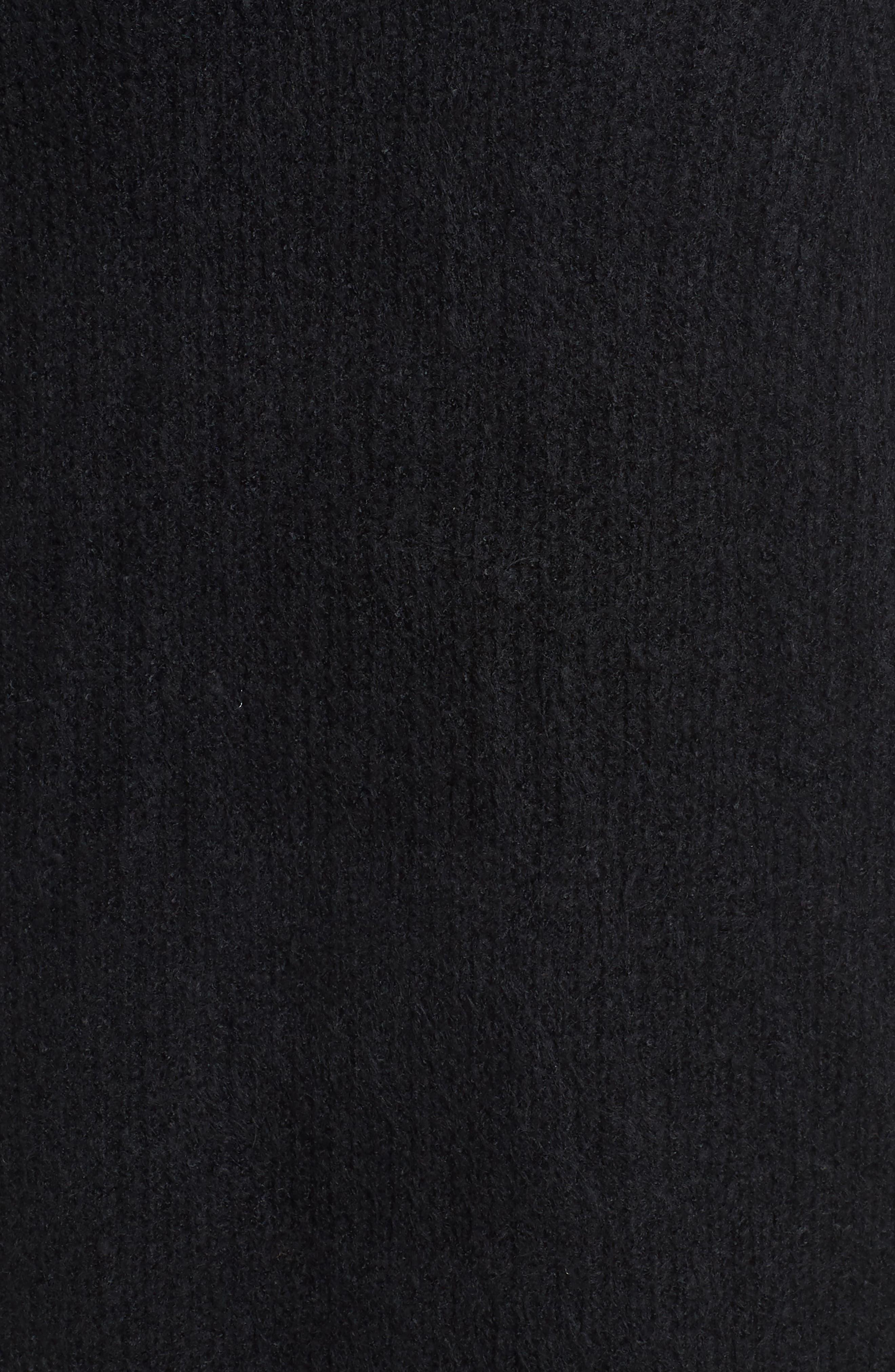 ,                             Blouson Sleeve Cardigan,                             Alternate thumbnail 5, color,                             001