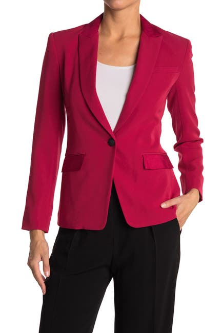 Image of Rag & Bone Rylie Solid One Button Blazer
