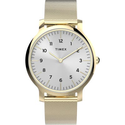 Timex Norway Mesh Strap Watch,
