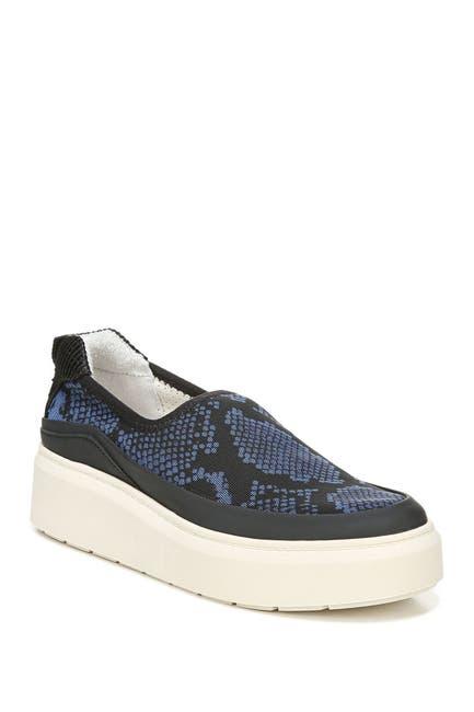 Image of Franco Sarto Lera Slip-On Snakeskin Print Platform Sneaker