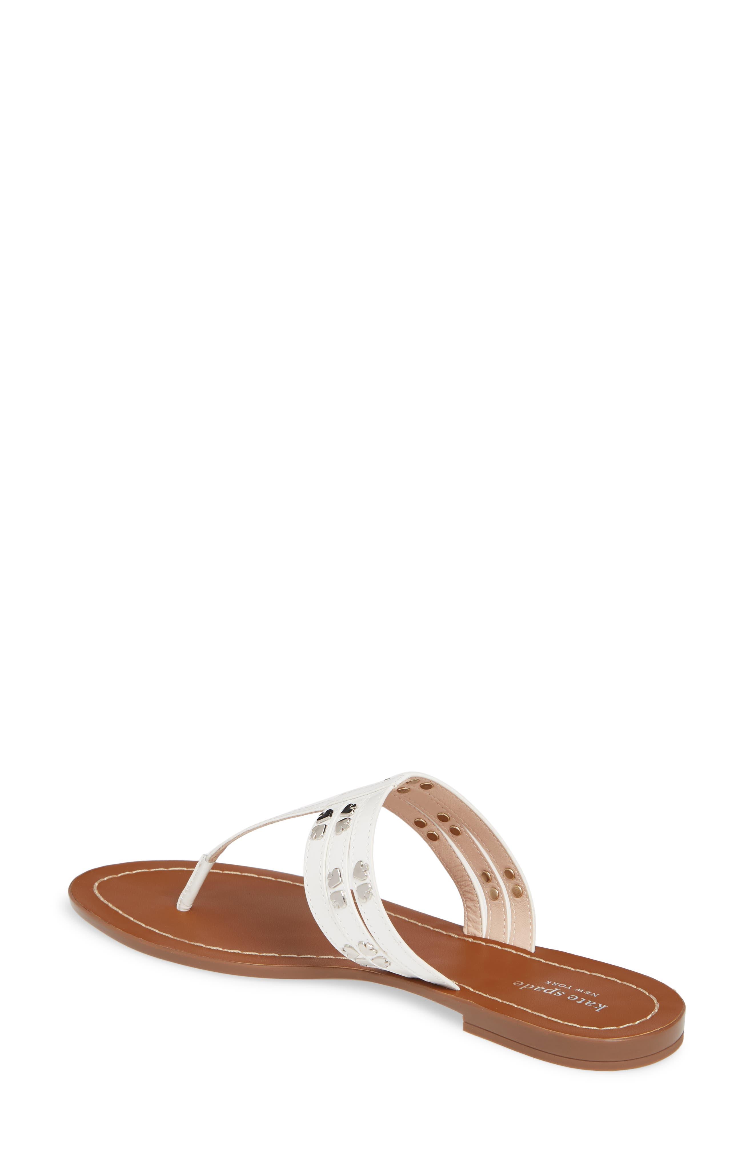 ,                             carol sandal,                             Alternate thumbnail 2, color,                             WHITE