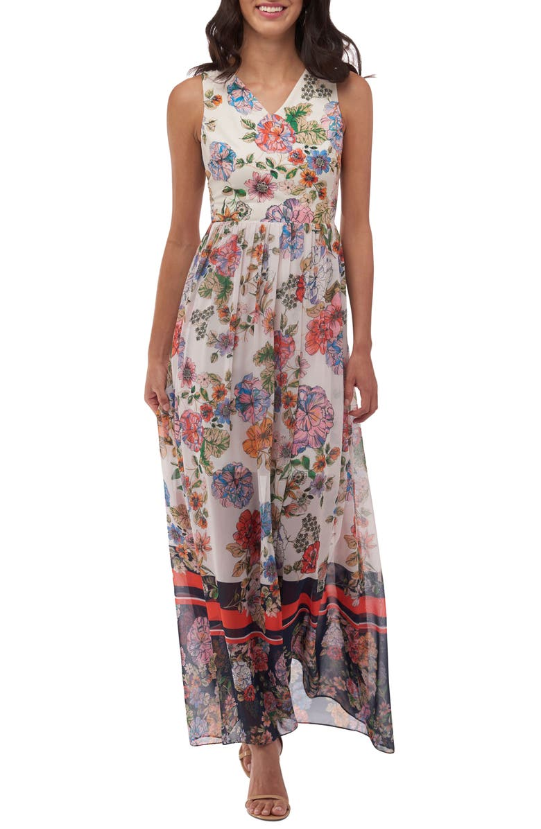 ECI Print Maxi Dress, Main, color, 909