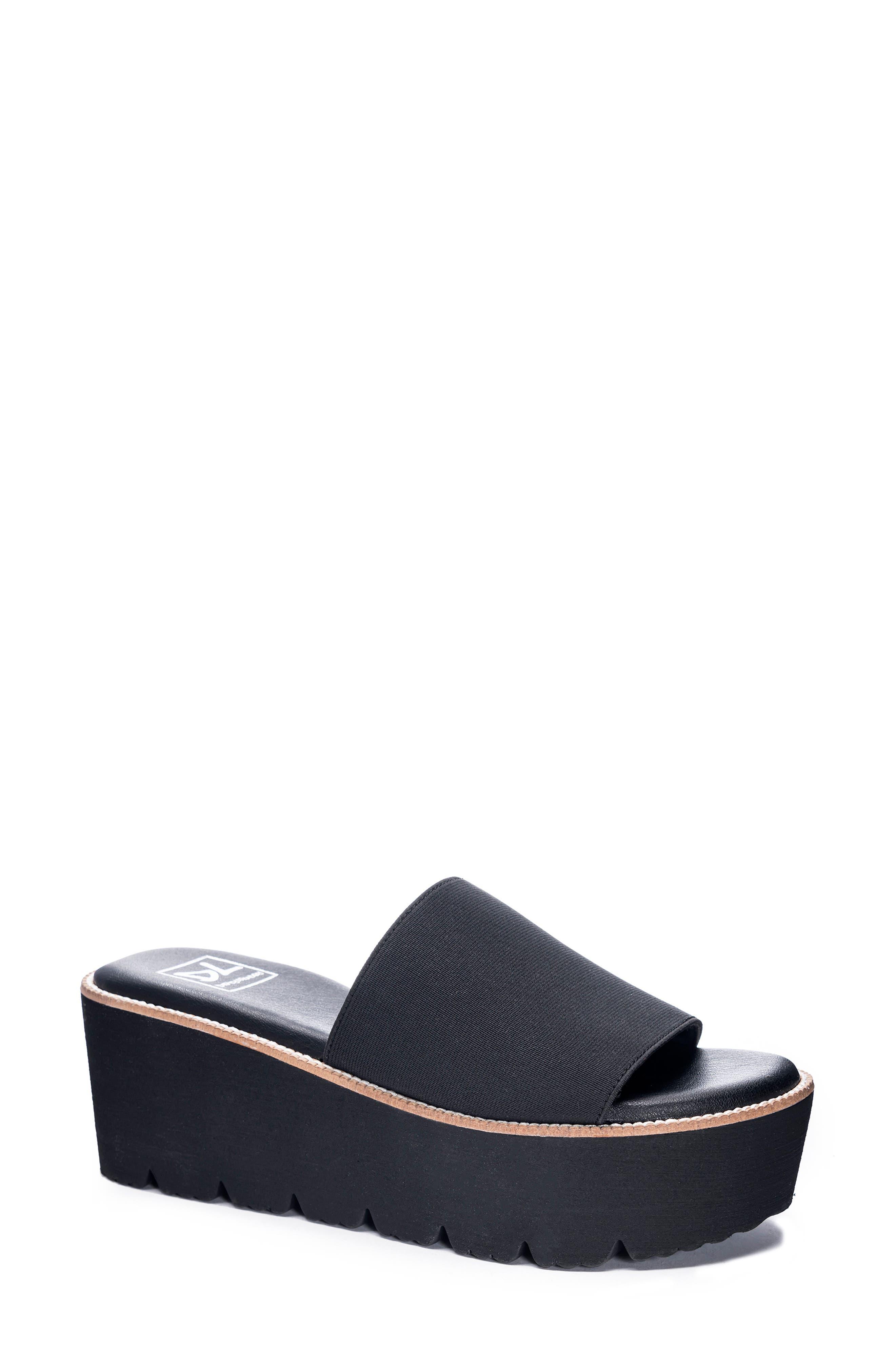 Pivot Platform Slide Sandal