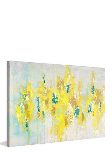 """Image of Marmont Hill Inc. Sunlit Floral Painting Print on Wrapped Canvas - 24""""x16"""""""