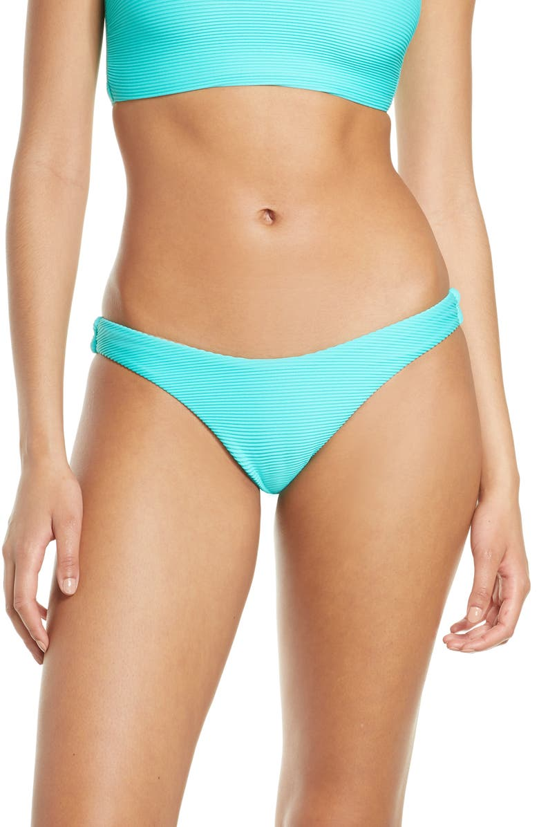 SEAFOLLY High Cut Bikini Bottoms, Main, color, MAUI BLUE