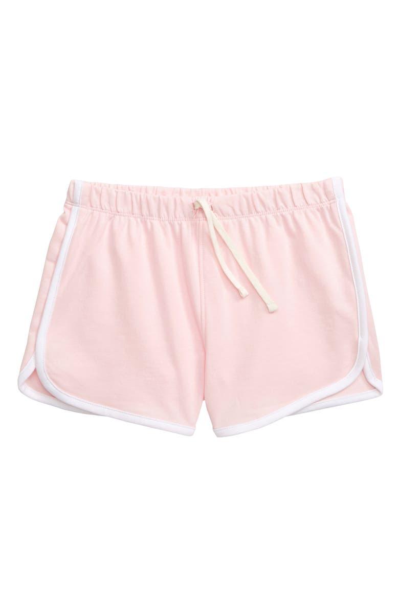 TUCKER + TATE Dolphin Hem Shorts, Main, color, 680