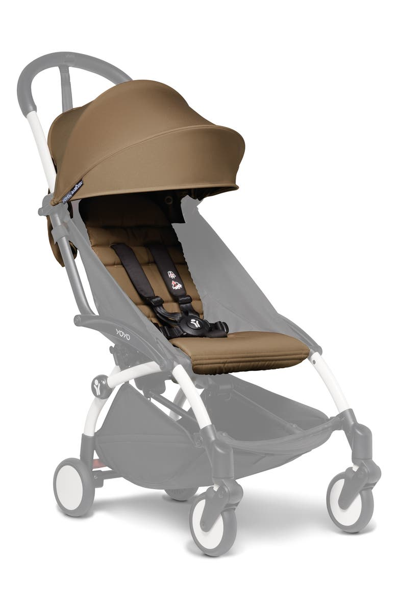 BABYZEN<SUP>™</SUP> YOYO 6+ Color Pack Seat/Fabric Set for BABYZEN YOYO+ and YOYO² Stroller Frames, Main, color, TOFFEE