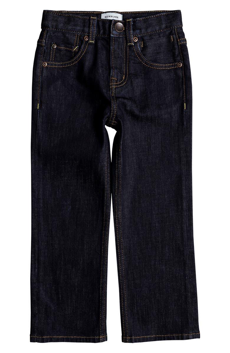QUIKSILVER Sequel Rinse Jeans, Main, color, RINSE