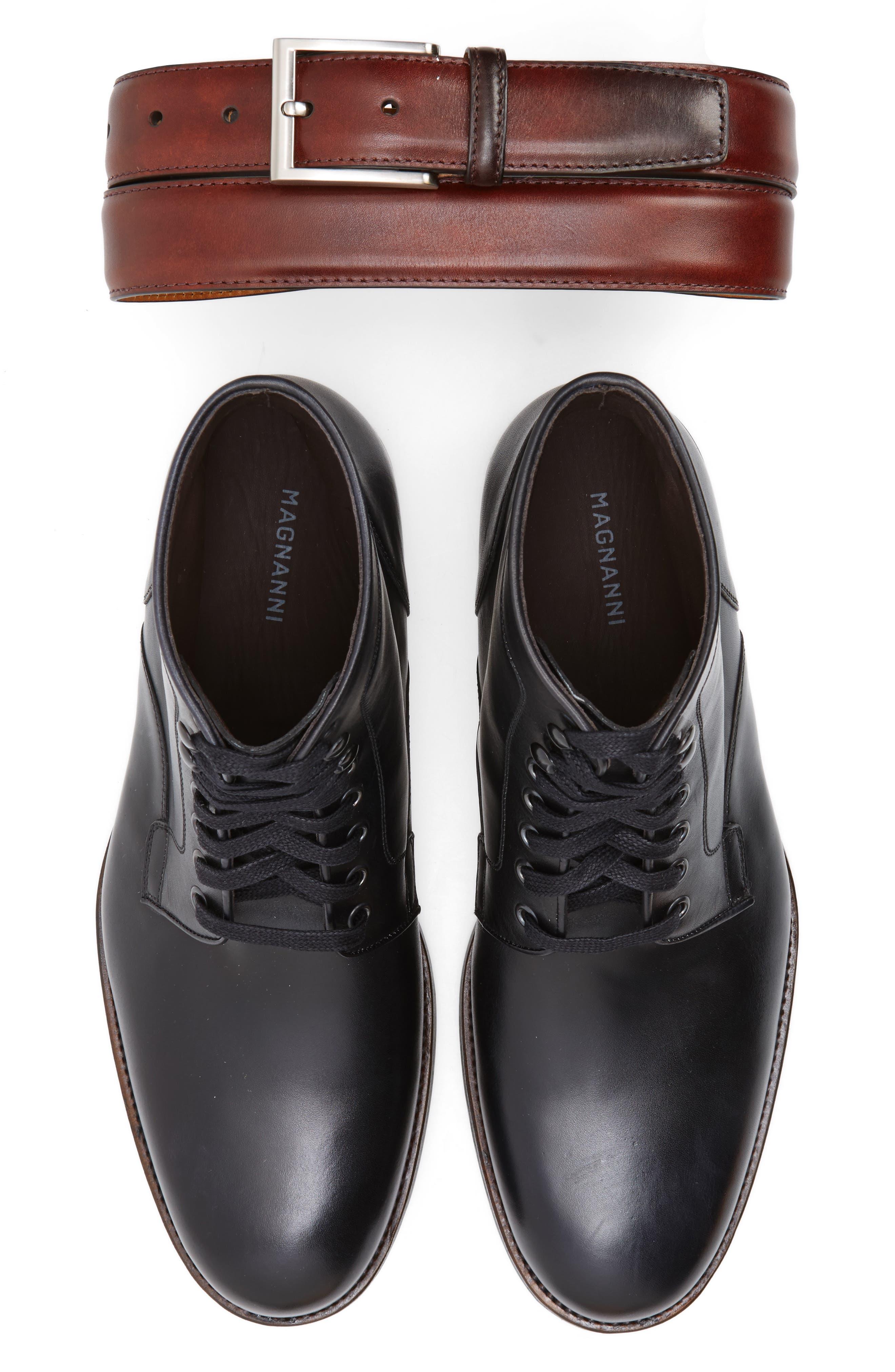 ,                             'Marcelo' Plain Toe Boot,                             Alternate thumbnail 2, color,                             001