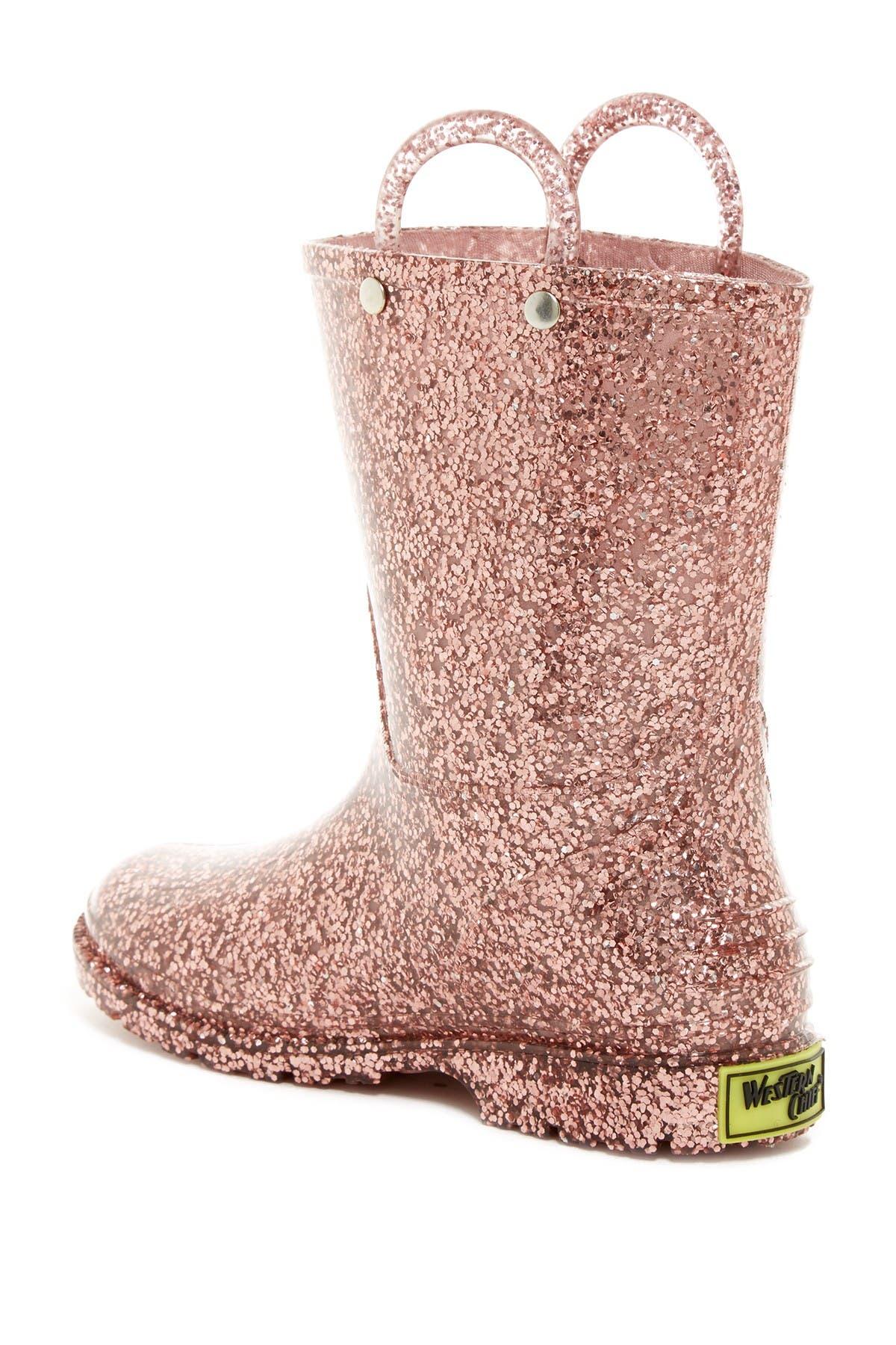 Western Chief Sparkle Waterproof Rain Boot
