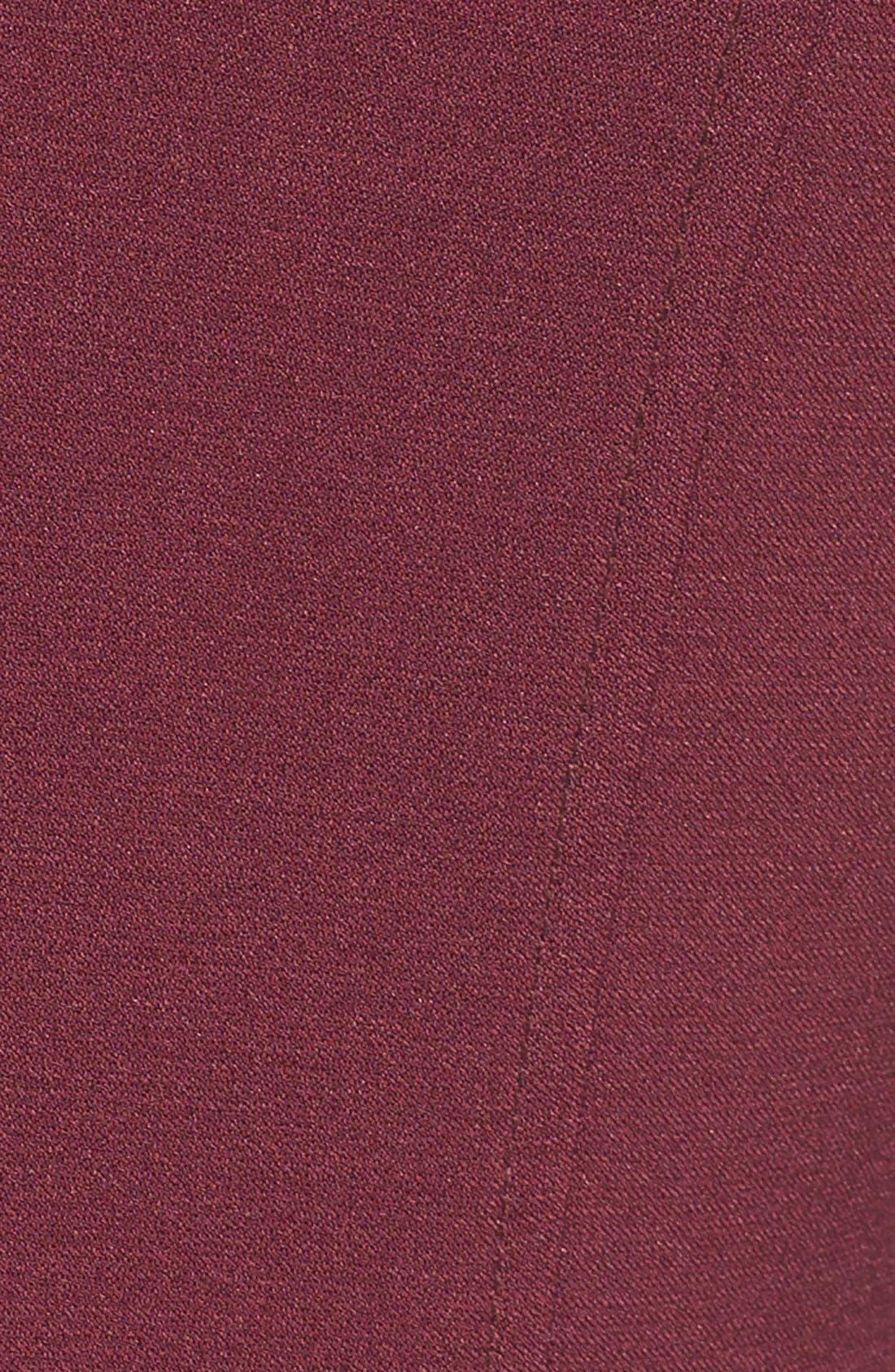 ,                             Illusion Yoke Crepe Sheath Dress,                             Alternate thumbnail 48, color,                             936