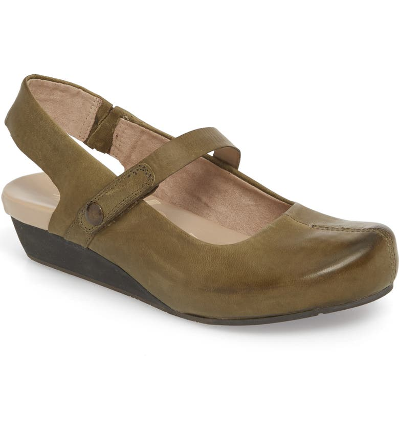 OTBT 'Springfield' Flat, Main, color, NEW MINT LEATHER