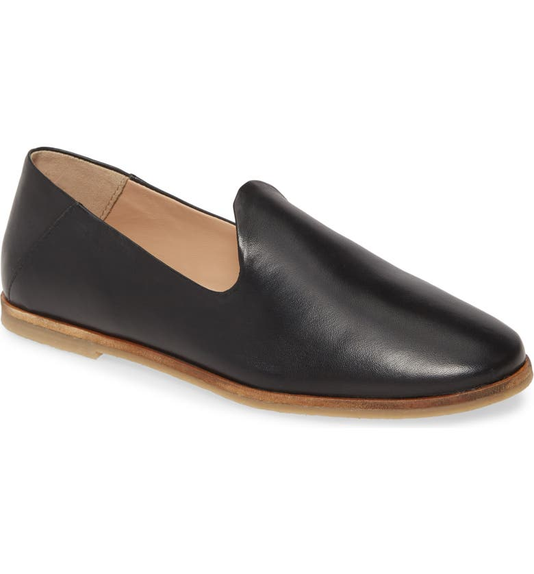 SEYCHELLES Blend In Loafer, Main, color, BLACK LEATHER
