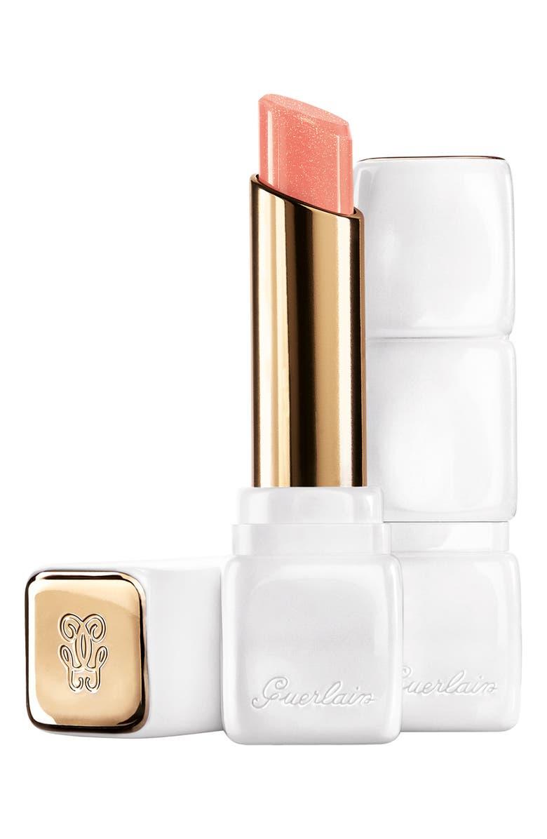 GUERLAIN Bloom of Rose KissKiss Roselip Hydrating & Plumping Tinted Lip Balm, Main, color, R347 PEACH SUNRISE