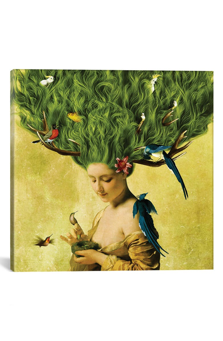 ICANVAS Safe Haven by Diogo Verissimo Giclée Print Canvas Art, Main, color, YELLOW