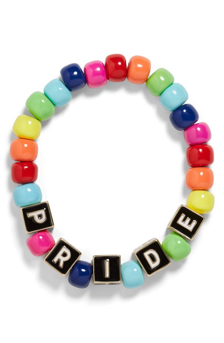 BaubleBar Pride Stretch Bracelet