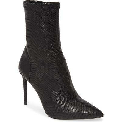 Alice + Olivia Corby Pointy Toe Bootie- Black