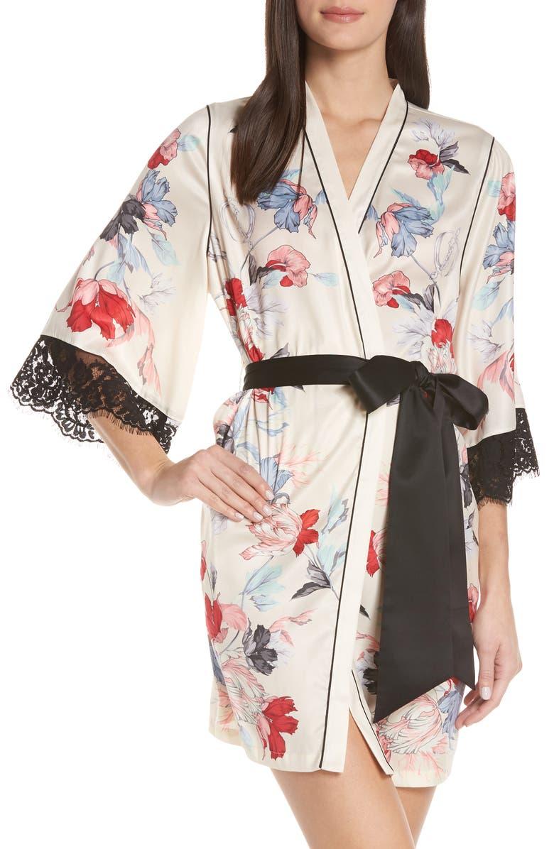 PALINDROME Rebel Flower Robe, Main, color, 900