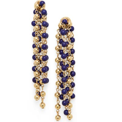 Bp. Bead Chain Linear Earrings