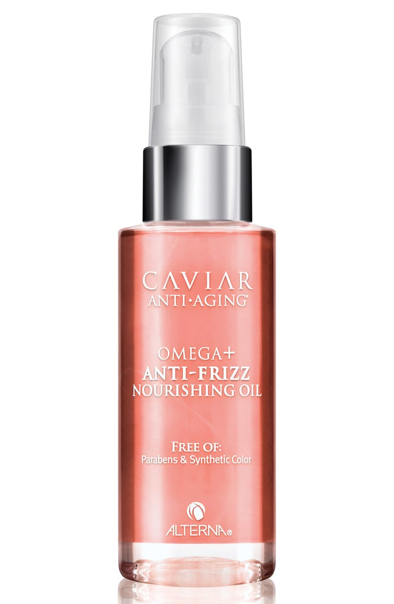 ALTERNA<SUP>®</SUP> Caviar Anti-Aging Omega Anti-Frizz Nourishing Oil, Main, color, 000