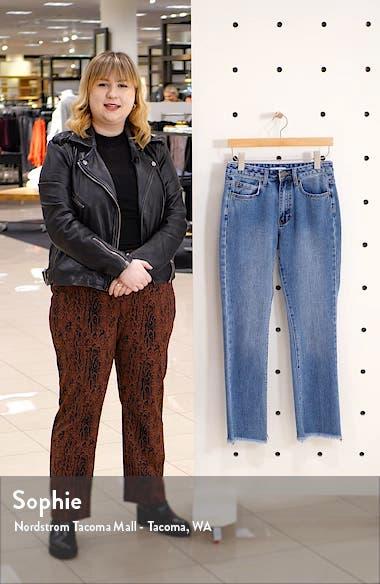 Cheeky Step Hem Crop Flare Jeans, sales video thumbnail