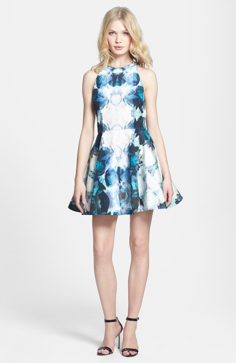KEEPSAKE THE LABEL 'The Echo' Print Dress, Main, color, 100