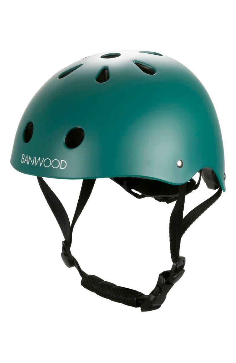 BANWOOD Bike Helmet, Main, color, GREEN