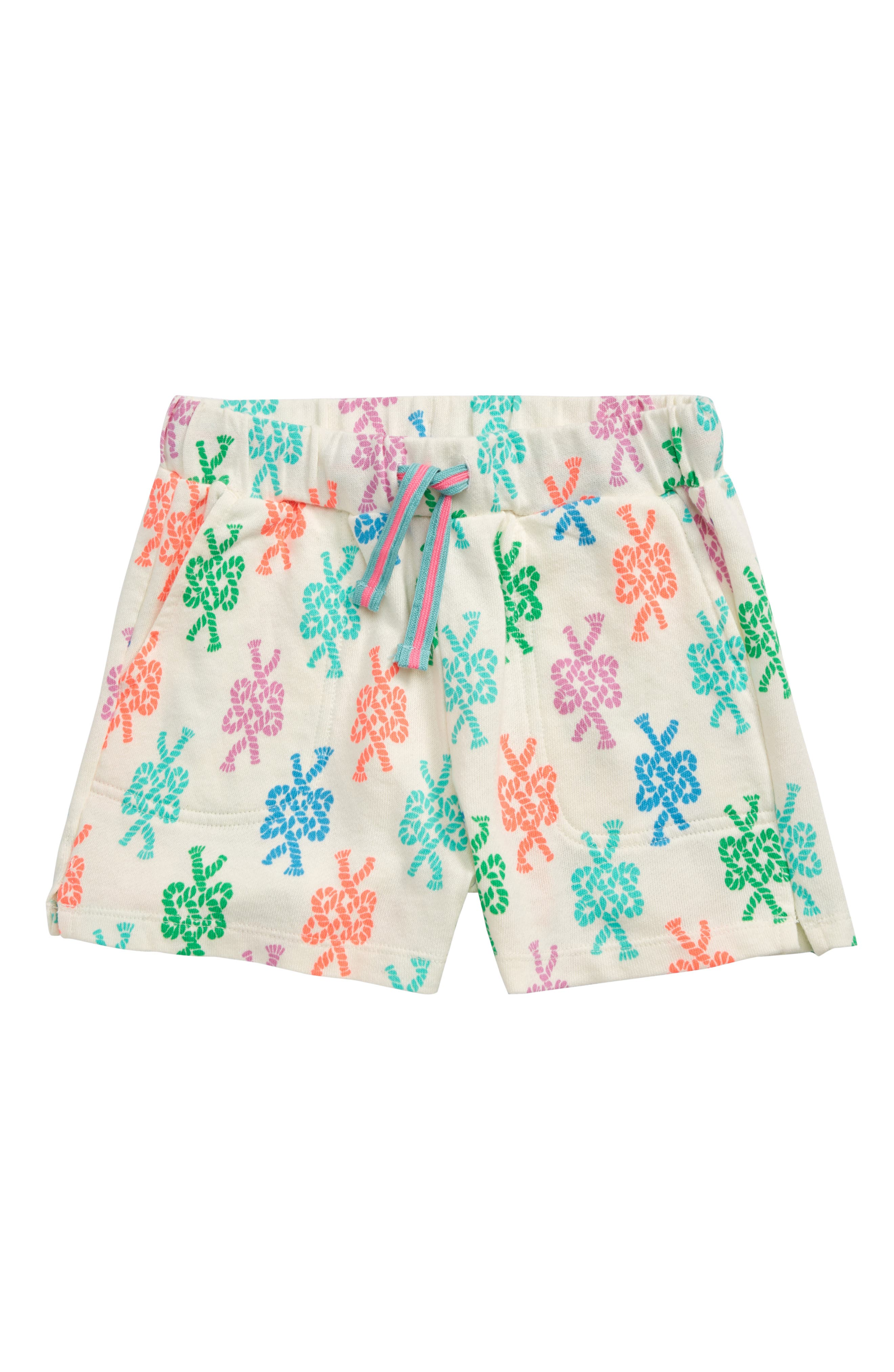 Toddler Girls Crewcuts By Jcrew Sailors Knots Terry Shorts Size 2T  Ivory