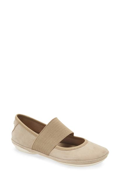 Camper RIGHT NINA LEATHER BALLERINA FLAT