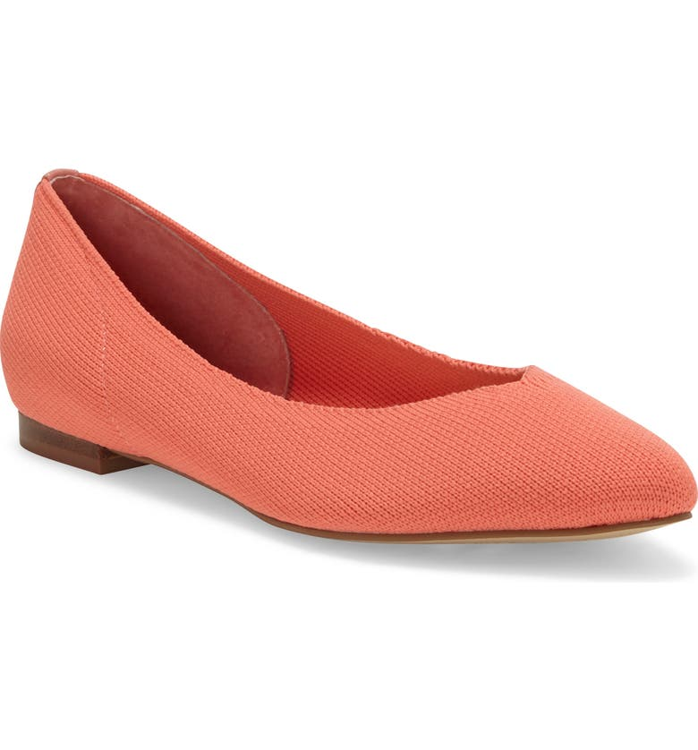 CC CORSO COMO<SUP>®</SUP> Julia Knit Flat, Main, color, PORCELAIN ROSE KNIT FABRIC
