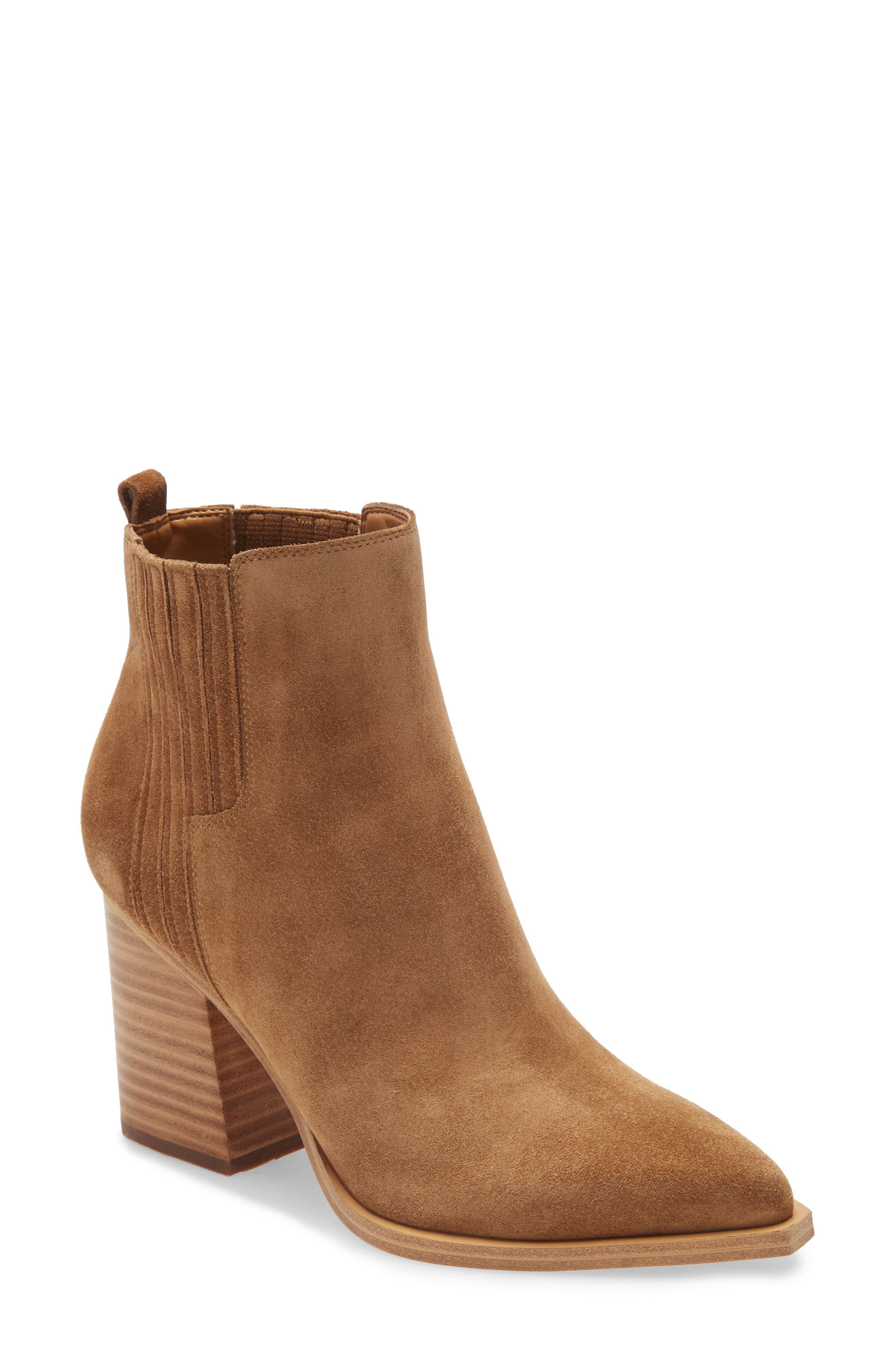 Image of Marc Fisher LTD Oshay Suede Bootie