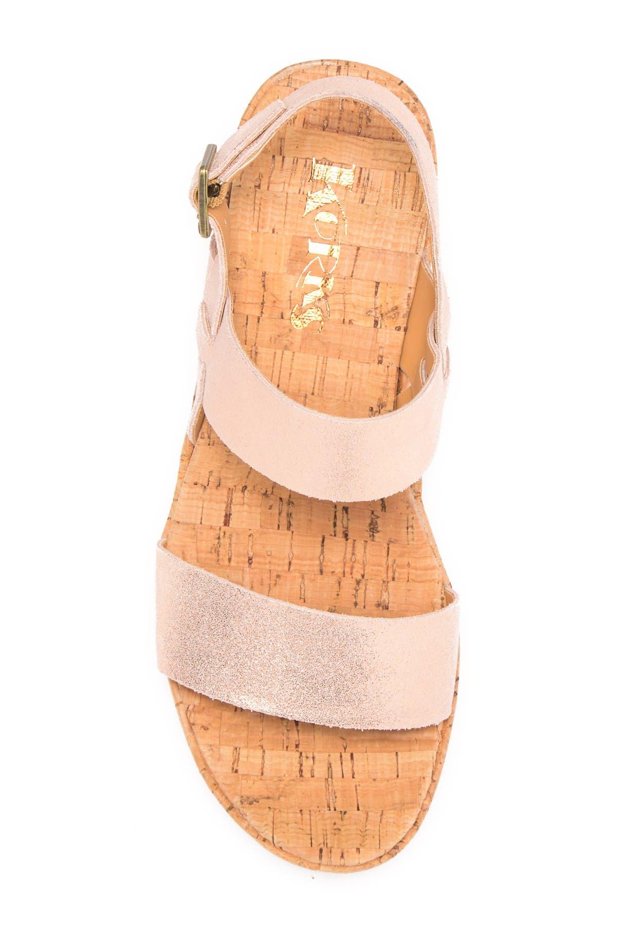 KORKS | Tome Platform Wedge Sandal