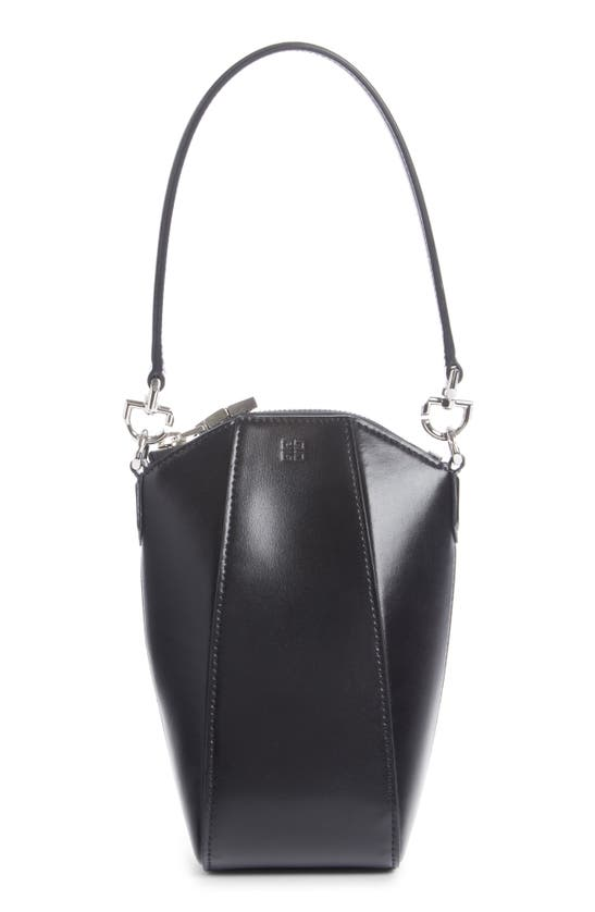 Givenchy Leathers ANTIGONA MINI VERTICAL LEATHER CROSSBODY BAG