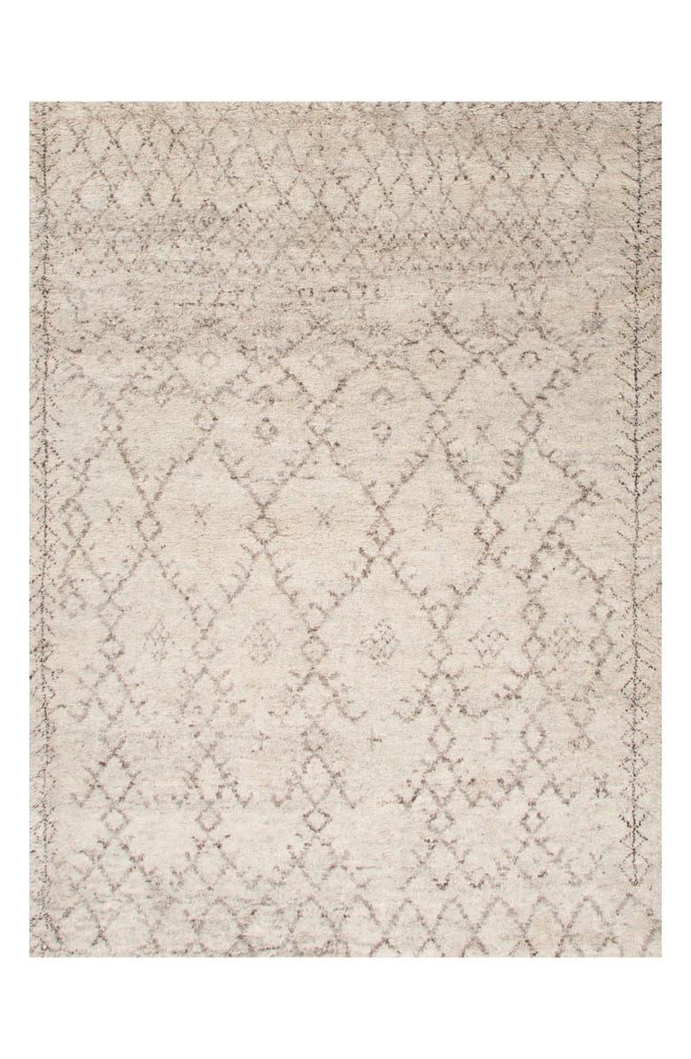 JAIPUR 'Zola' Wool Area Rug, Main, color, IVORY/ GREY