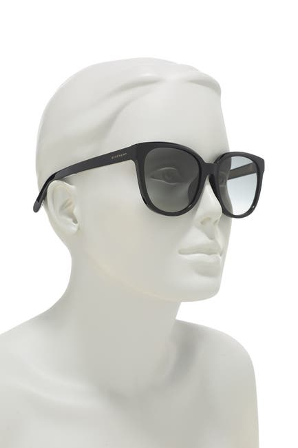 Image of Givenchy 56mm Round Sunglasses