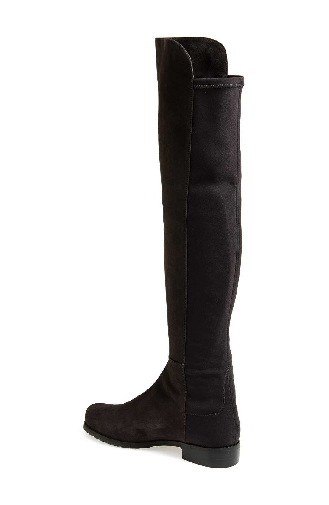 ,                             5050 Over the Knee Leather Boot,                             Alternate thumbnail 14, color,                             020