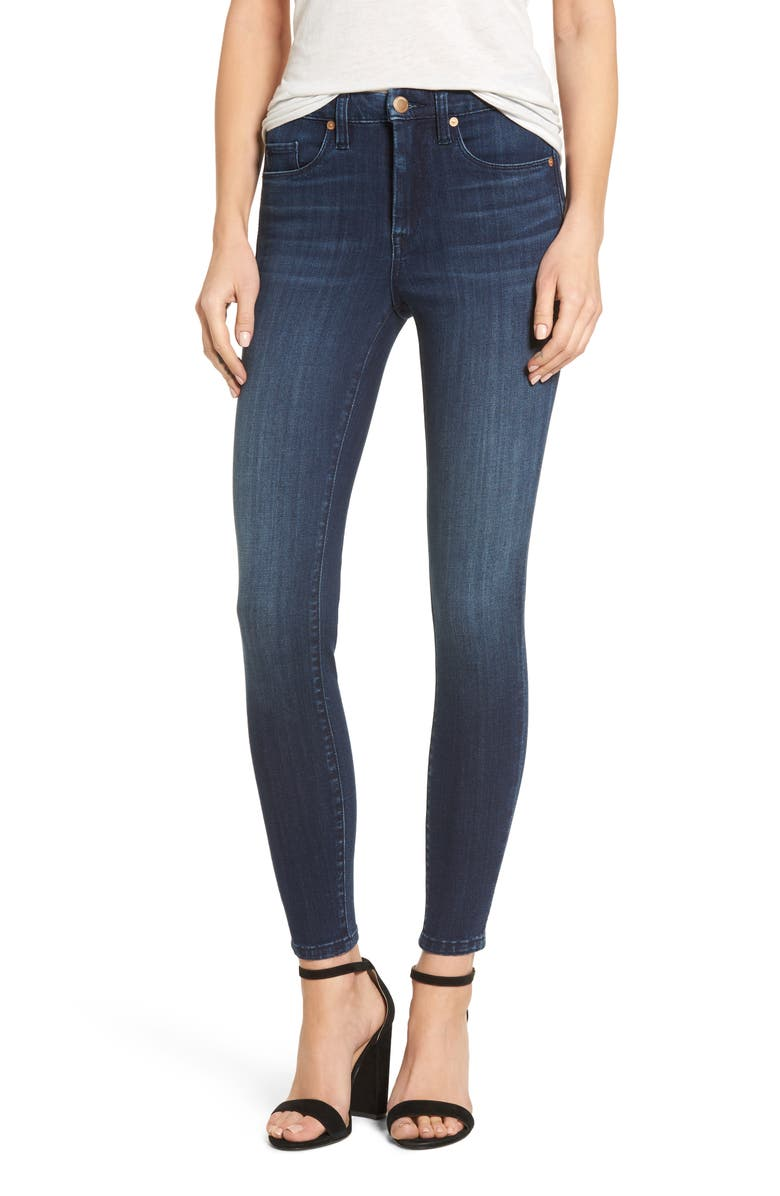 BLANKNYC The Bond Stretch Skinny Jeans, Main, color, 400