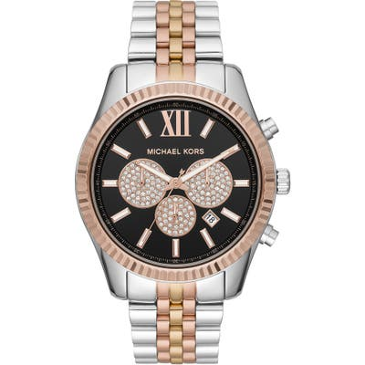 Michael Michael Kors Lexington Chronograph Bracelet Watch, 4m