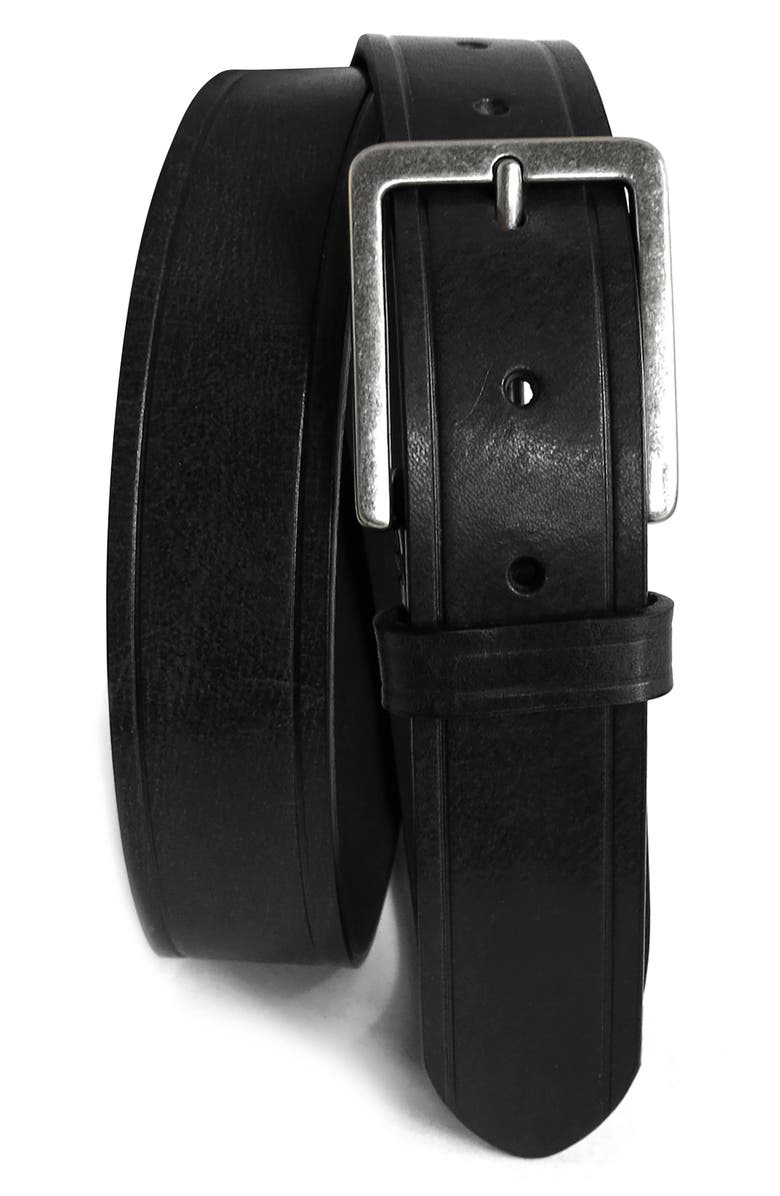Boconi Embossed Leather Belt