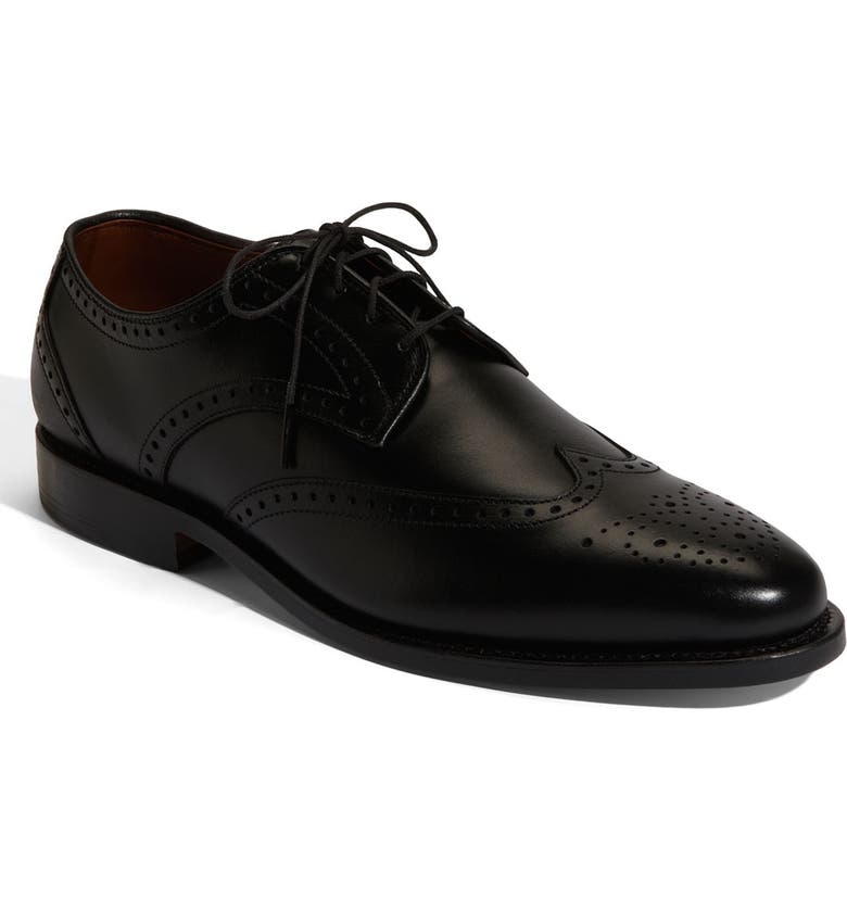 ALLEN EDMONDS 'Hinsdale' Wingtip Oxford, Main, color, 001