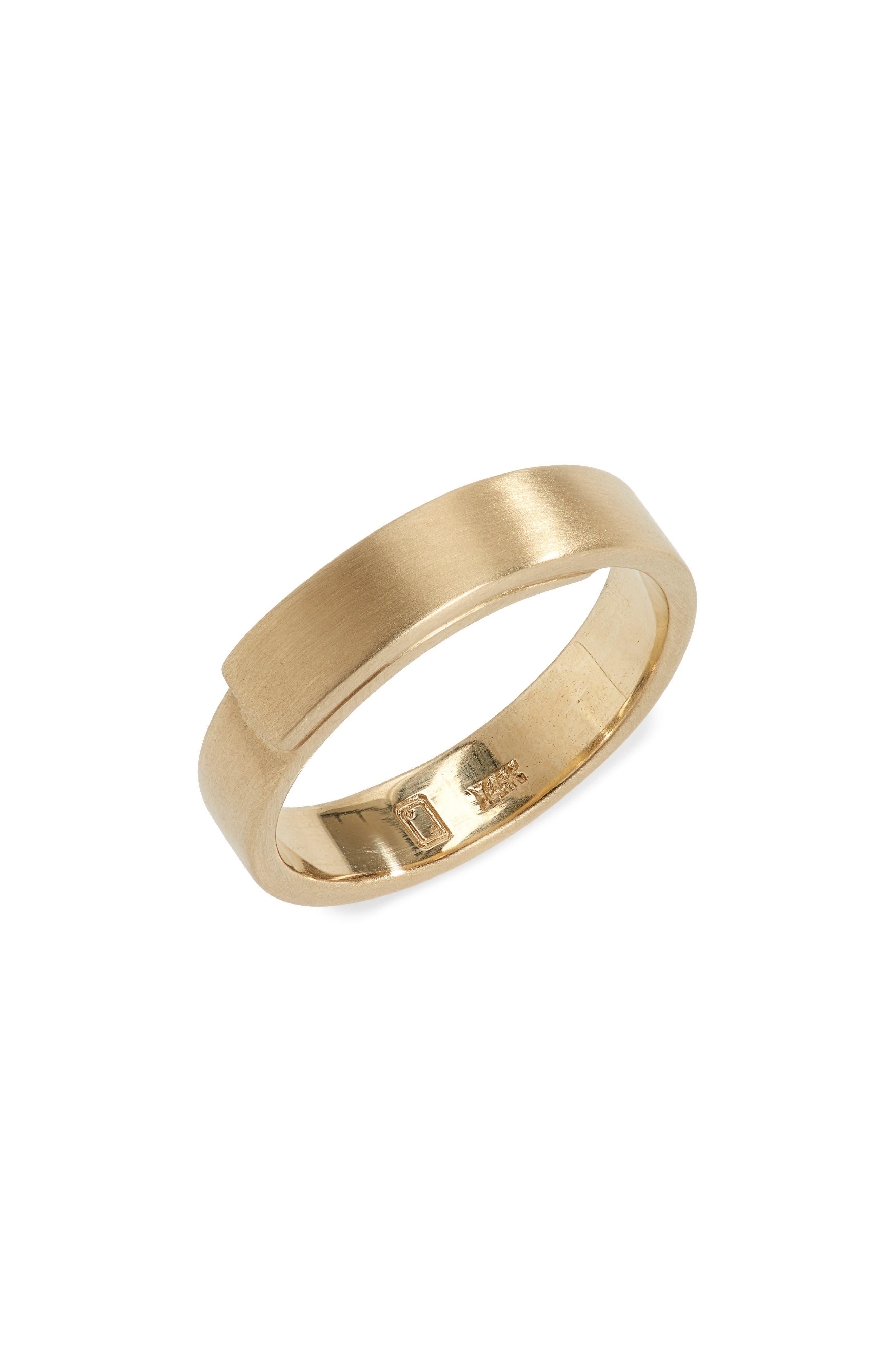 Vitae 14K Gold Ring