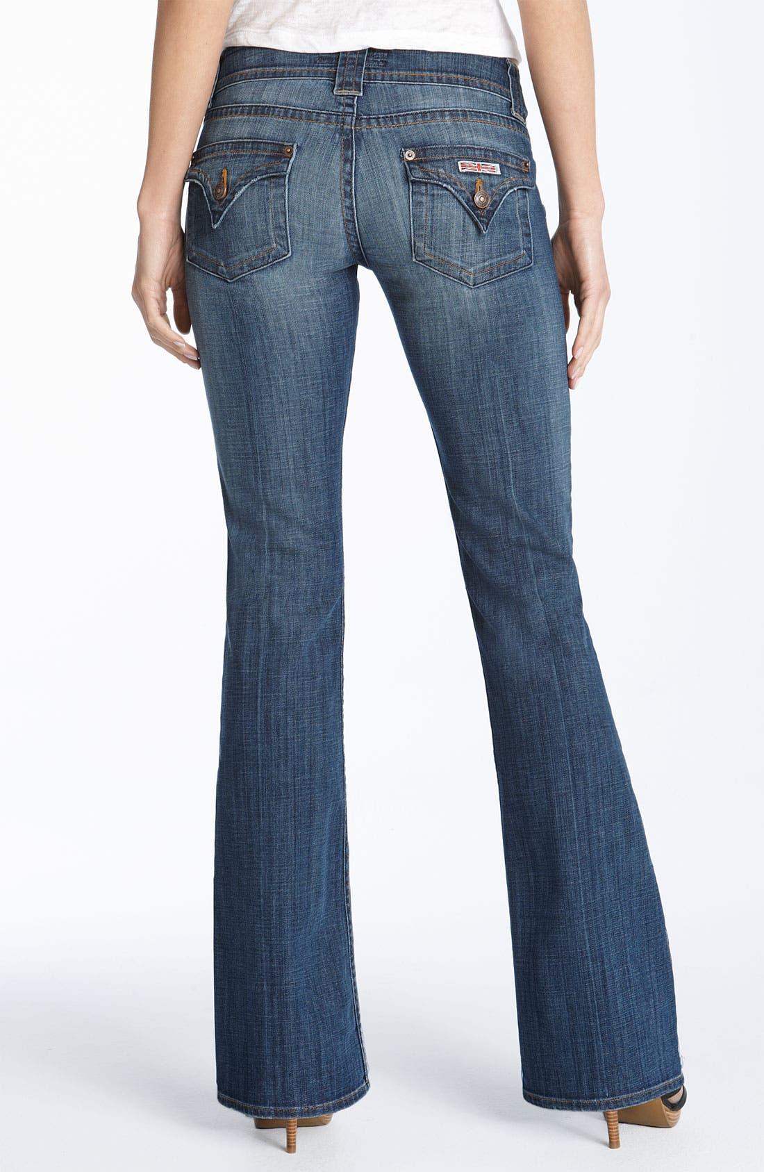 ,                             Signature Flap Pocket Bootcut Jeans,                             Alternate thumbnail 33, color,                             413