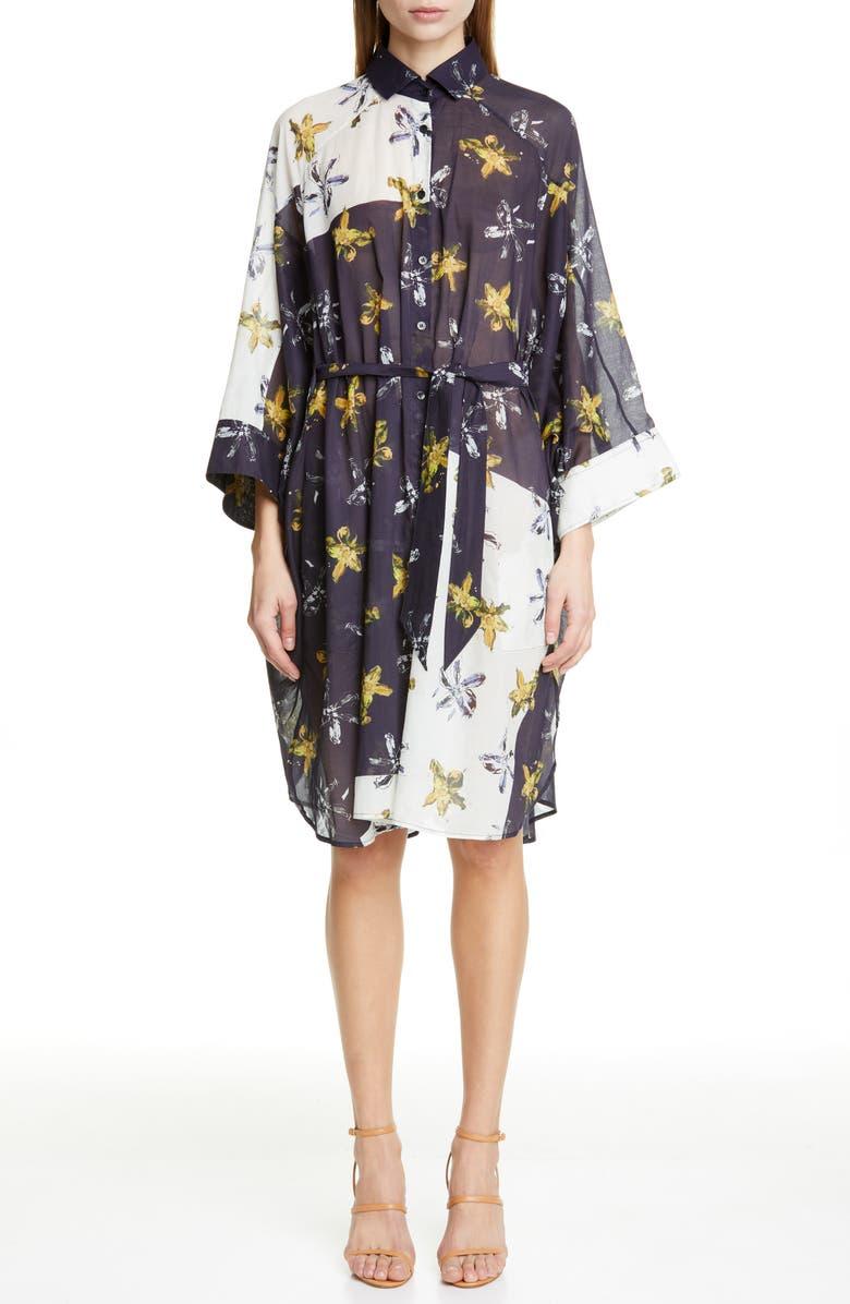 PALMER/HARDING Dana Belted Shirtdress, Main, color, 400