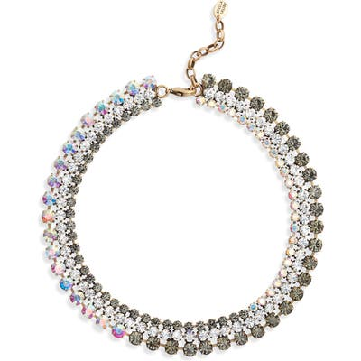 Stella + Ruby Ombre Crystal Collar Necklace