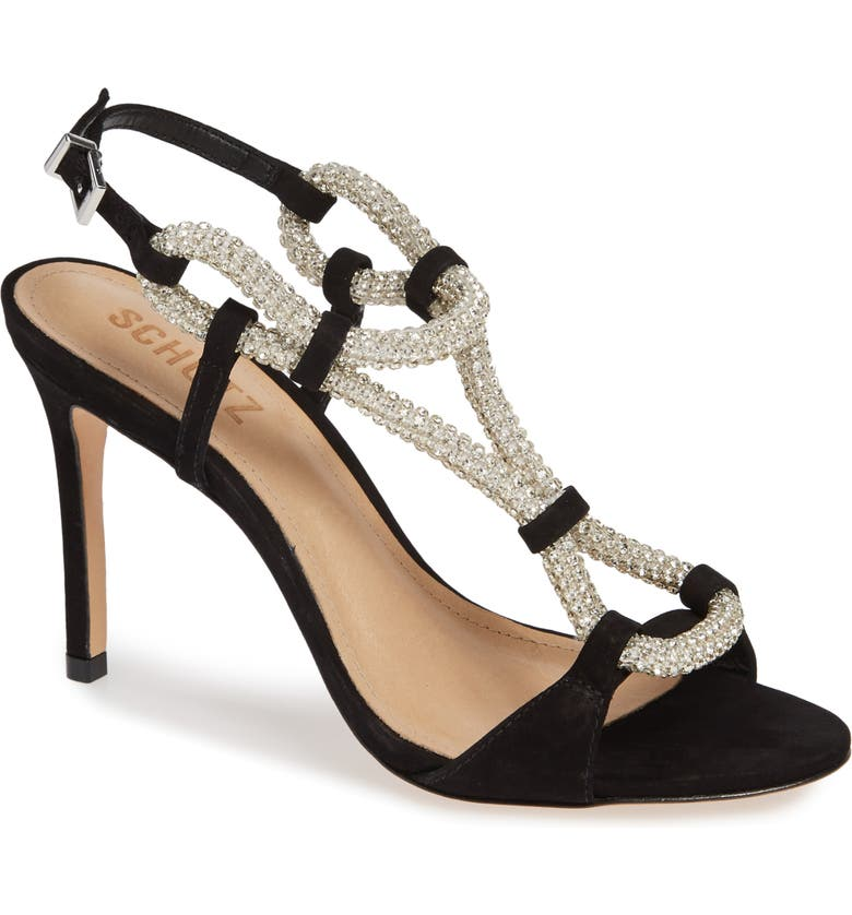 SCHUTZ Zemna Sandal, Main, color, 001