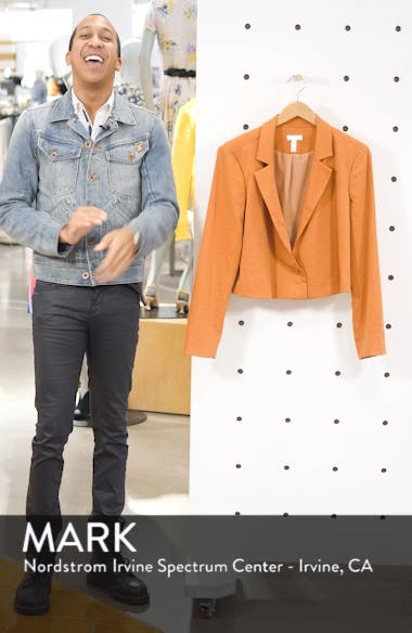 Cropped Blazer, sales video thumbnail