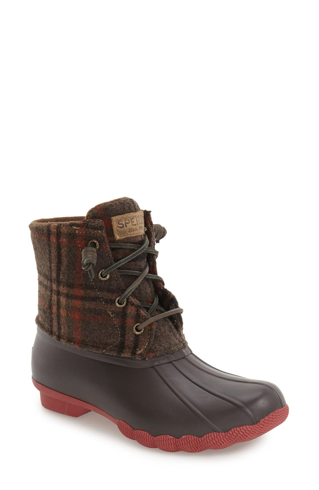 ,                             Saltwater Duck Boot,                             Main thumbnail 70, color,                             203