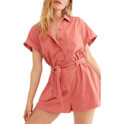 Endless Summer By Free People No Plans Romper, Pink