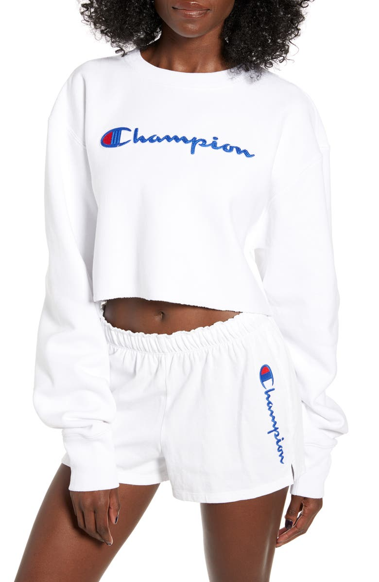 Champion Crop Sweatshirt